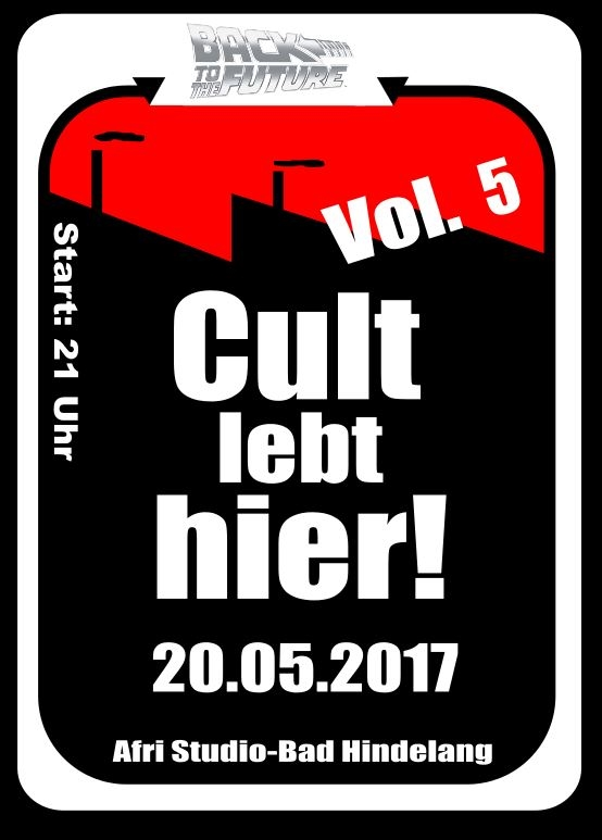 next Cult party 20.05.2017